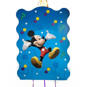 Mickey Mouse Pull String Pinata / Khoi Bag - Funzoop