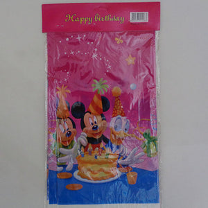 Mickey Mouse Theme Plastic Table Cover - Funzoop