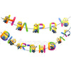 Minions Theme Birthday Wall Banner - Funzoop