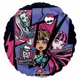 "18"" Monster High Group Theme Foil Balloon - Funzoop"