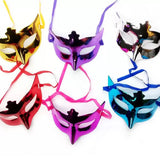 Solid Colors Party Eye Mask - Assorted [1 Pcs] - Funzoop