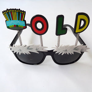 Old Stylish Birthday Party Goggles - Funzoop