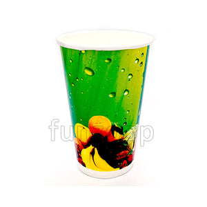 Paper Cup in Fruits Pattern - Medium - Funzoop