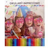Unicorn Party Paper Goggles For Kids [3 Pcs] - Funzoop