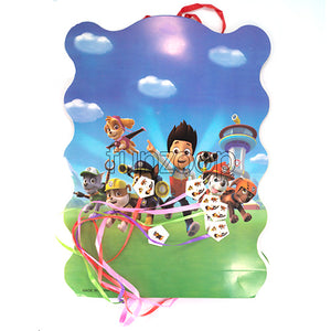 PAW Petrol Theme Pull String Pinata / Khoi Bag - Funzoop The Party Shop