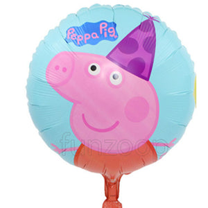 "18"" Peppa Pig Foil Balloon - Funzoop"