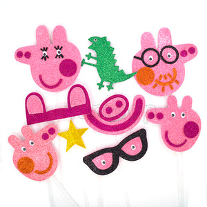 Peppa Pig Photo Booth Props Set [10 props] - Funzoop