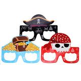 Pirate Party Paper Goggles For Kids [3 Pcs] - Funzoop
