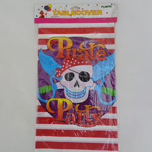 Pirate Party Theme Plastic Table Cover - Funzoop
