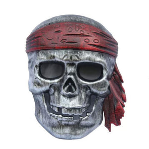 Pirate Skull Horror Mask - Funzoop