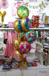 Princess 8 in 1 Foil Balloons Bouquet Set - Helium Inflated [FBB06]