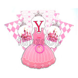 Princess Birthday Wall Banner Bunting - Funzoop