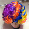 Short Curly Colorful Party Wig - Funzoop