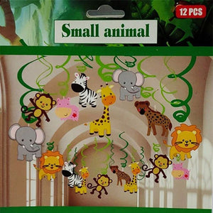 Small Animals Swirls [6 Sets Pcs] - Funzoop