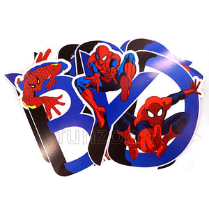 Spider-man Theme Birthday Wall Banner - Funzoop