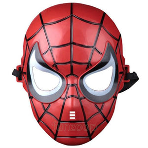 Spider-man Face Mask - Red - Funzoop