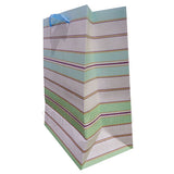 Stripes Paper Bag green - Funzoop