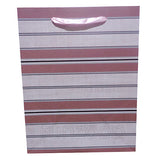 Stripes Paper Bag Pink - Funzoop