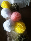 "12"" Tissue Paper Pom Pom - In Use - Funzoop"