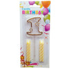 Topper Number Cake Candles [digit one] - Funzoop