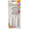 Topper Number Cake Candles [digit two] - Funzoop