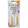 Topper Number Cake Candles [digit seven] - Funzoop