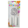 Topper Number Cake Candles [digit eight] - Funzoop
