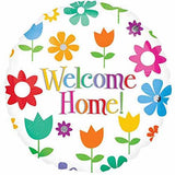 Welcome Home Flowers Foil Balloon - Funzoop