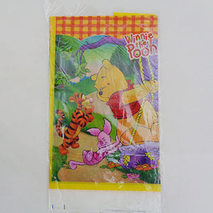 Winnie The Pooh Theme Kids Plastic Table Cover - Funzoop