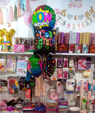 WOW Awesome Congrats Foil Balloon Bouquet - Funzoop The Party Shop