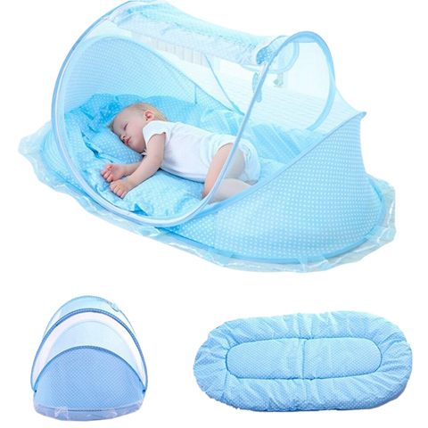 Anti-Ultraviolet Baby Mosquito Net Folding Quick Open Tent Bed