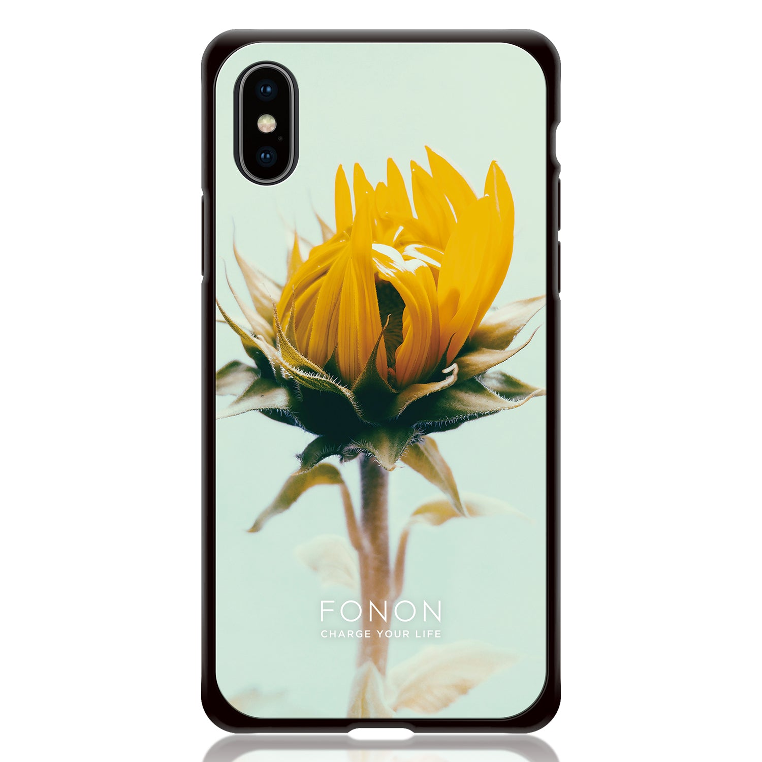 DAMPER GLASS iPhone CASE - BOTANICAL GARDEN - Dandelion
