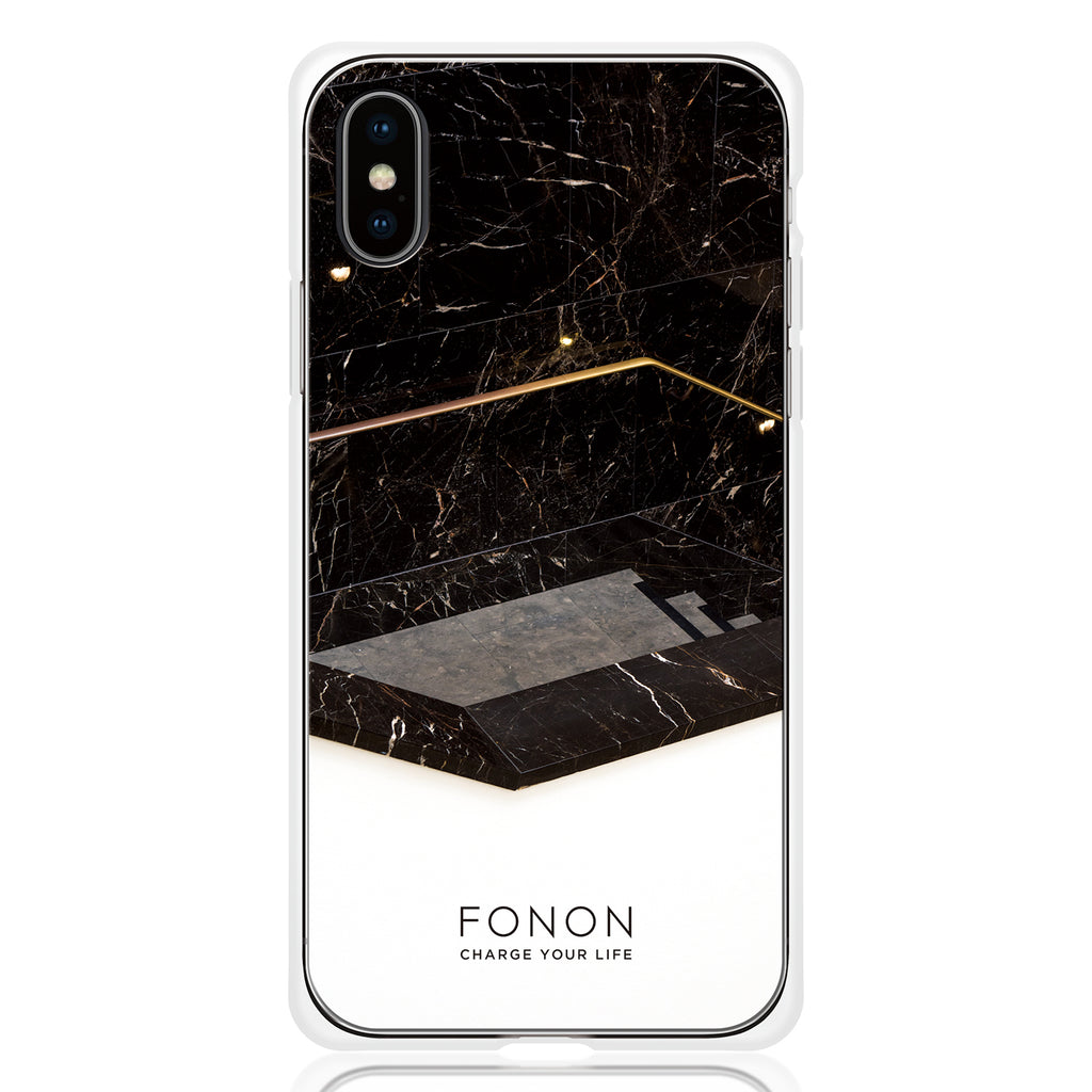 DAMPER GLASS iPhone CASE - GEOMETRIC PATTERN - Hexagon