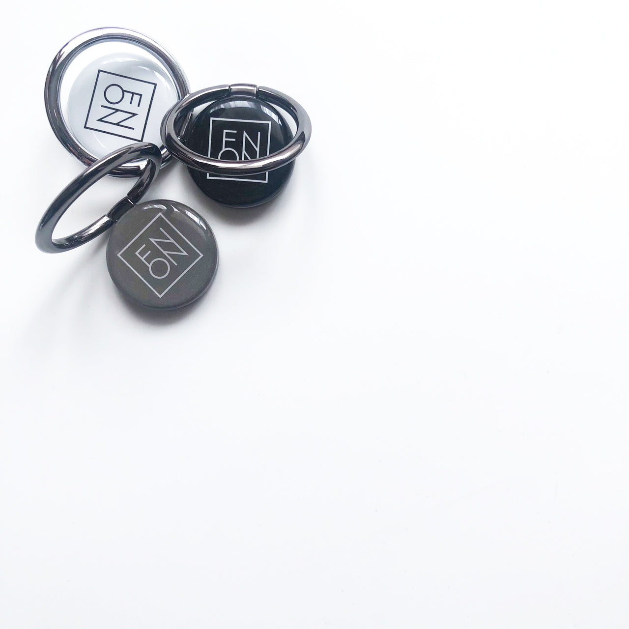 SMART RING - TYPO SERIES - Cube Black