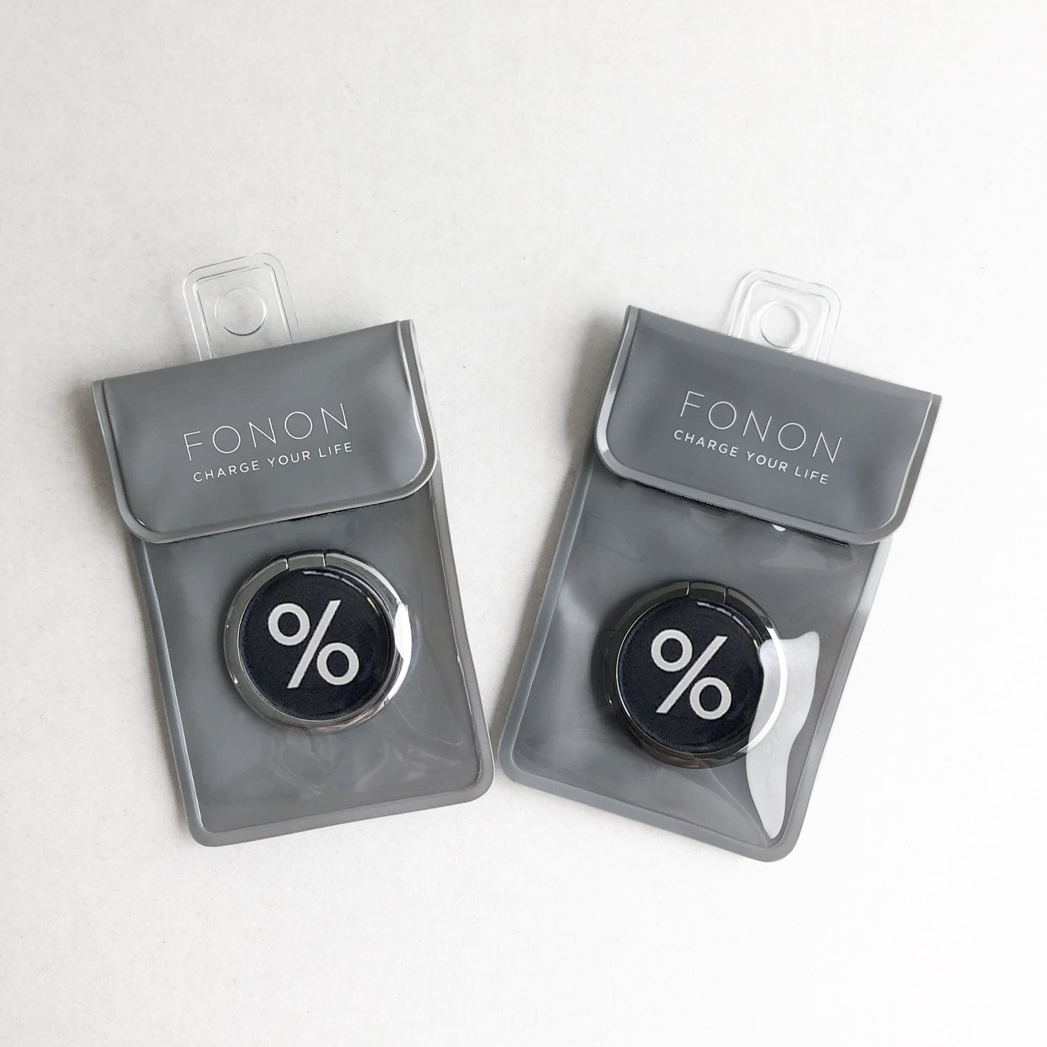 SMART RING - TYPO SERIES - %Black