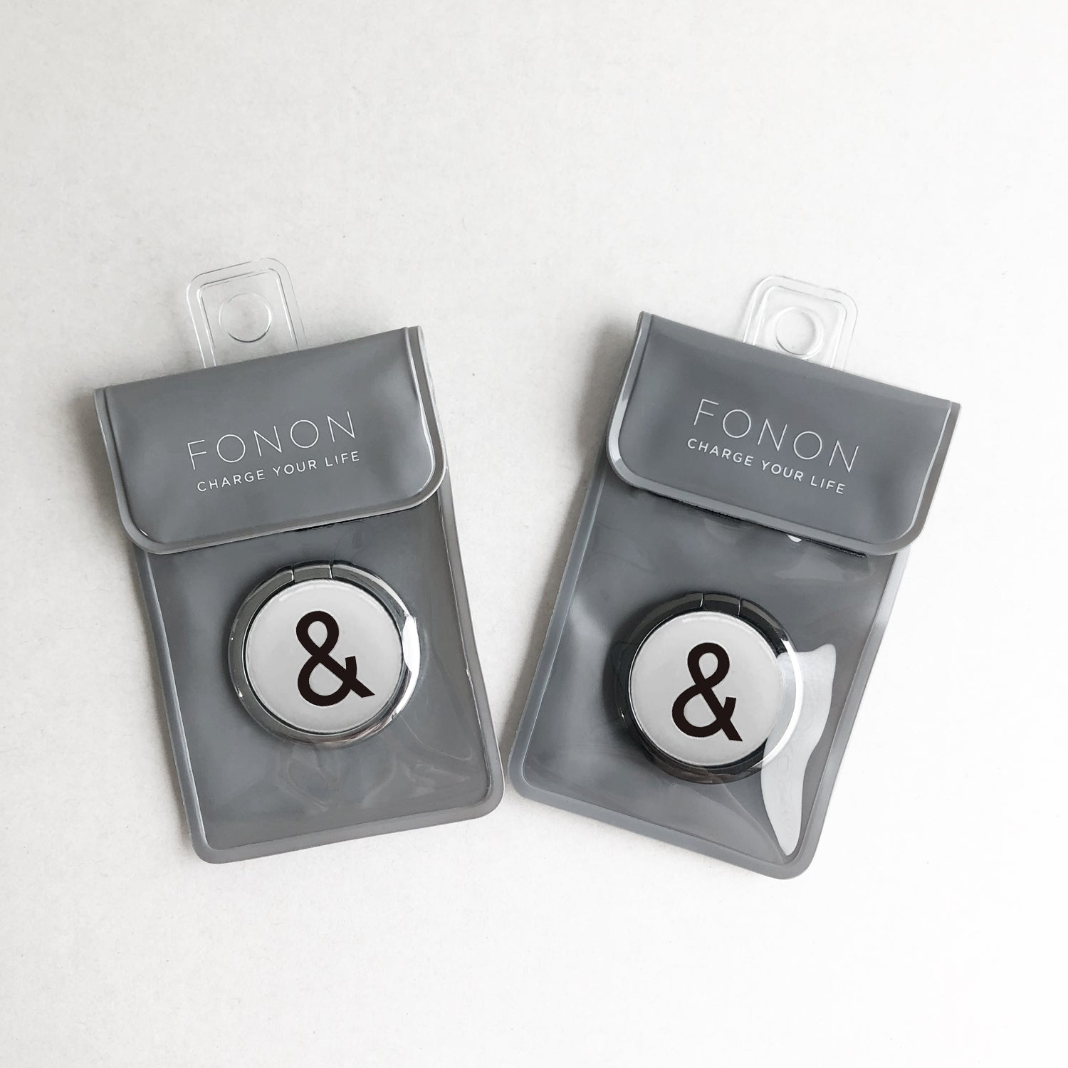 SMART RING - TYPO SERIES - &White
