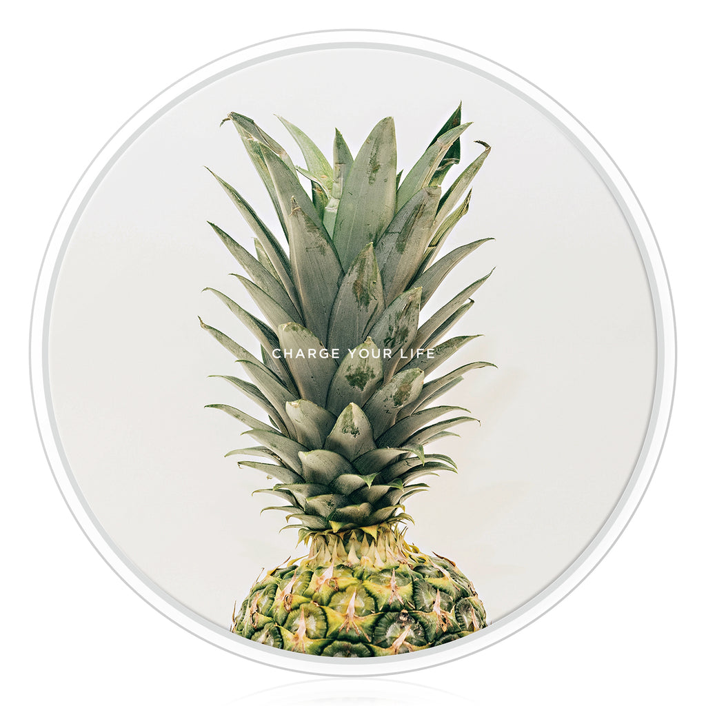 WIRELESS CHARGING BASE - BOTANICAL GARDEN - Pineapple