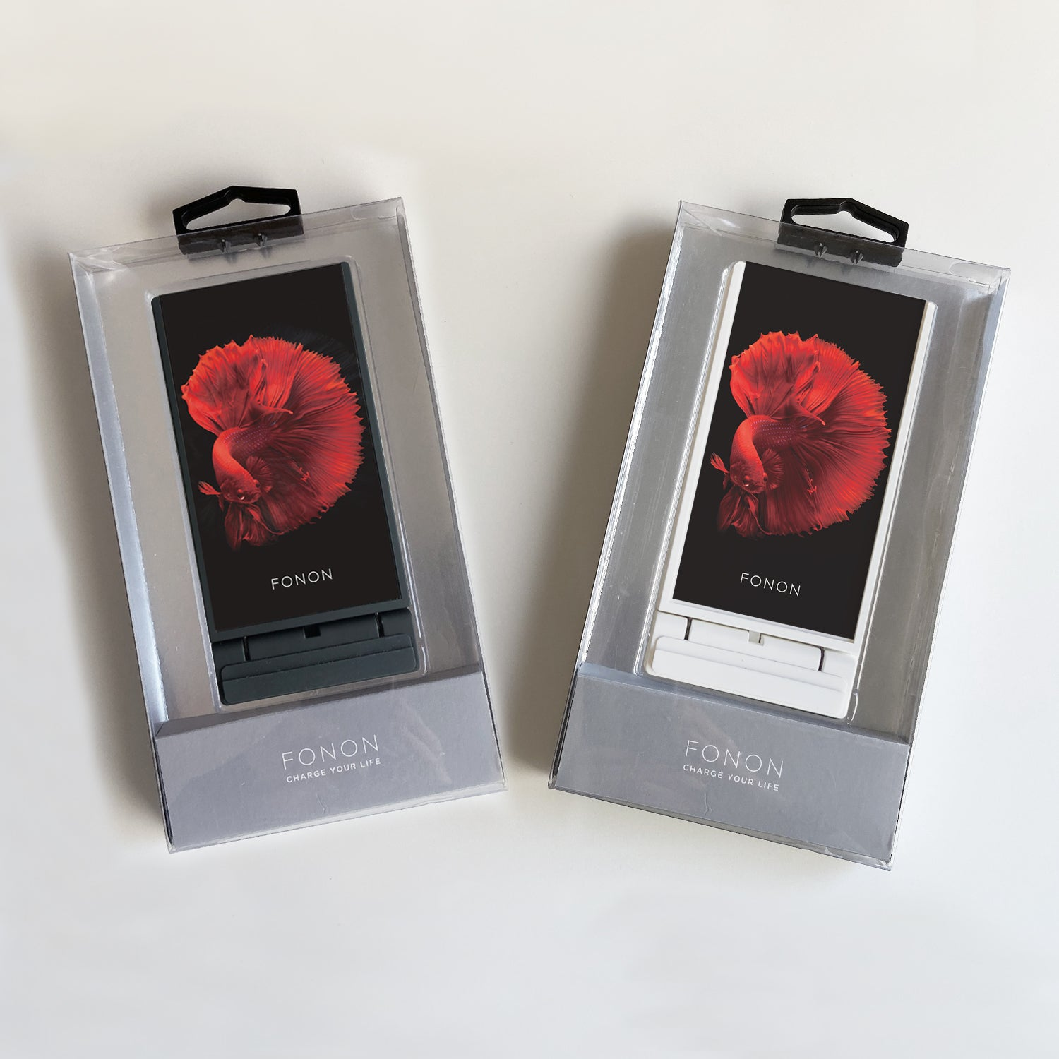 WIRELESS CHARGING STAND - ANIMALIA - Betta Red