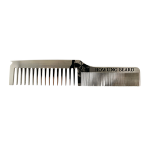 Beard and Hair Comb - Dual Tooth