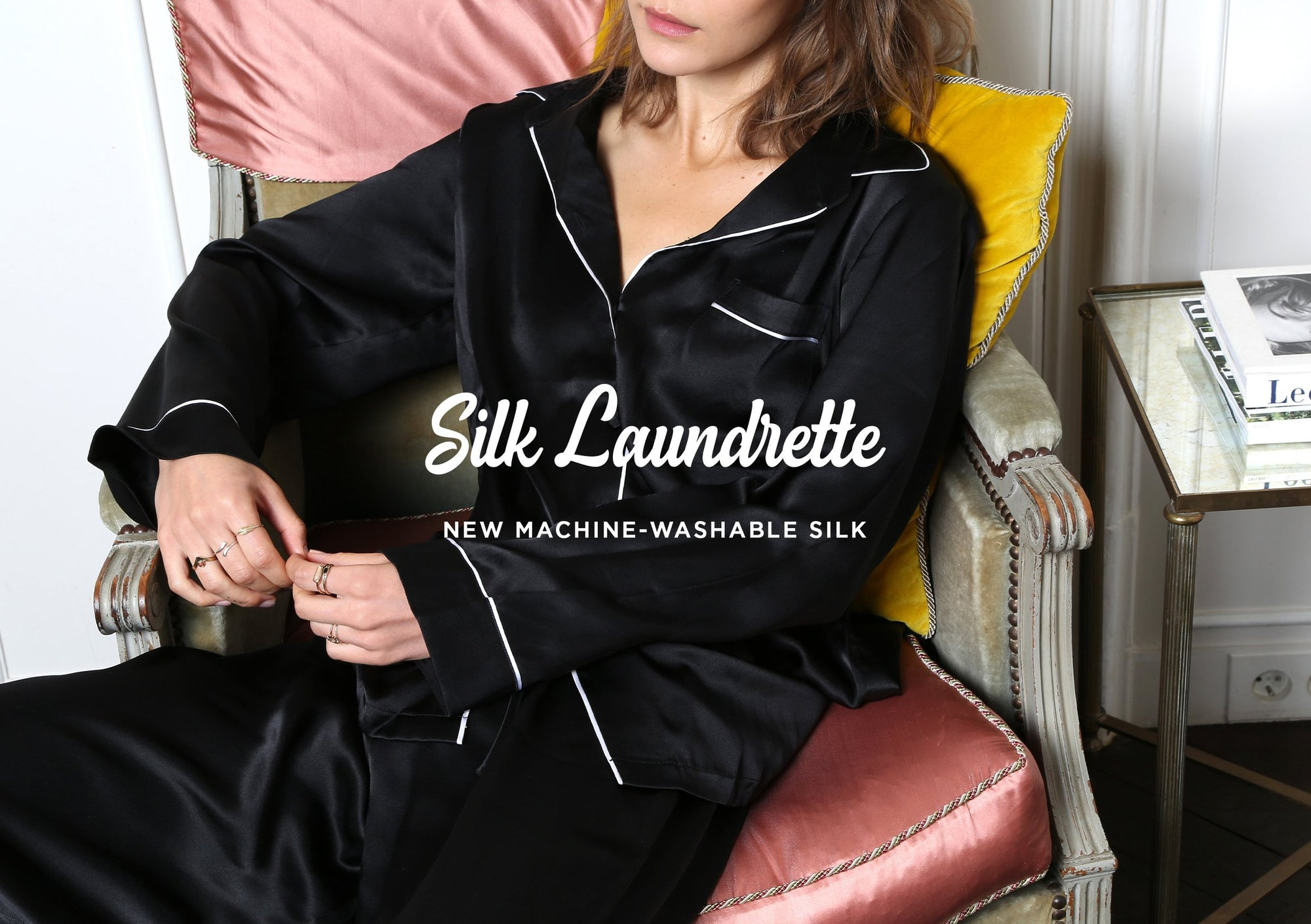 SILK LAUNDRETTE | Introducing our new machine-washable silk collection
