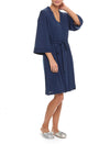 Modal Robe in Navy