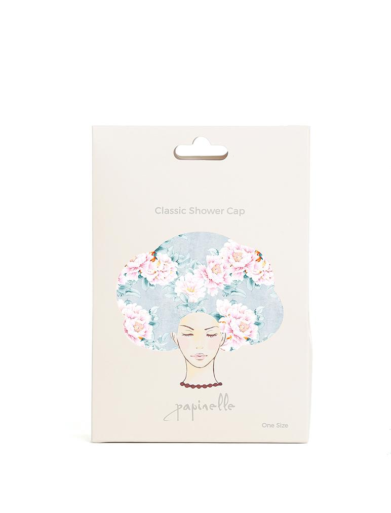 Boxed Classic Shower Cap Adele Blue