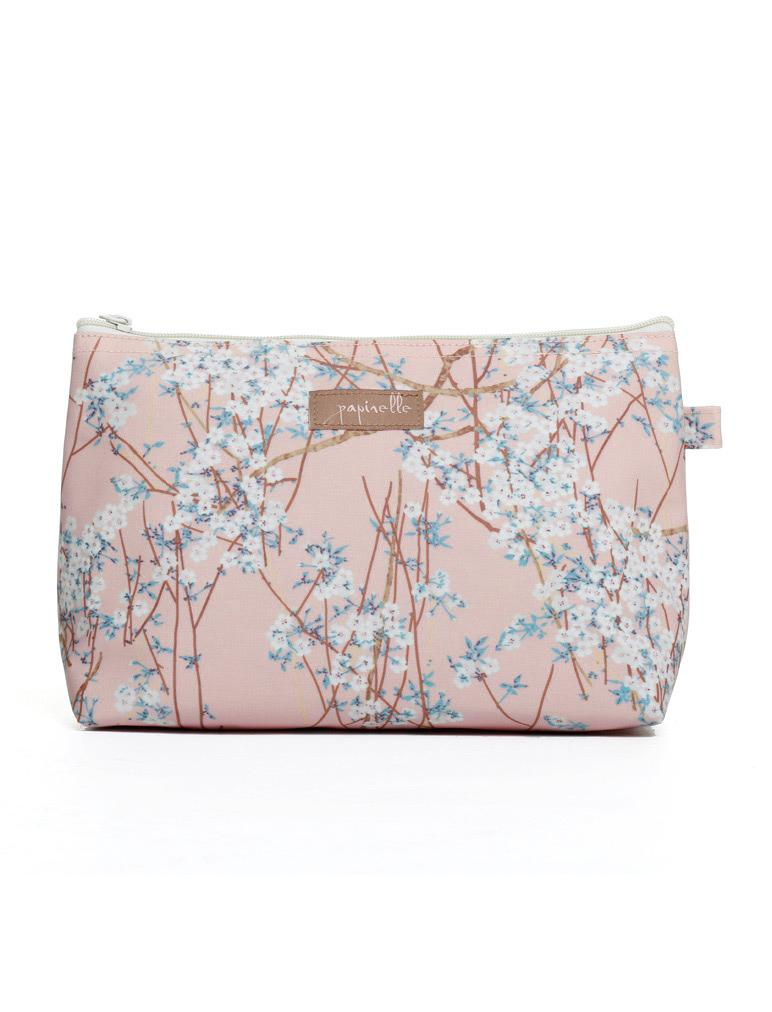 Cherry Blossom Cosmetic Bag Medium