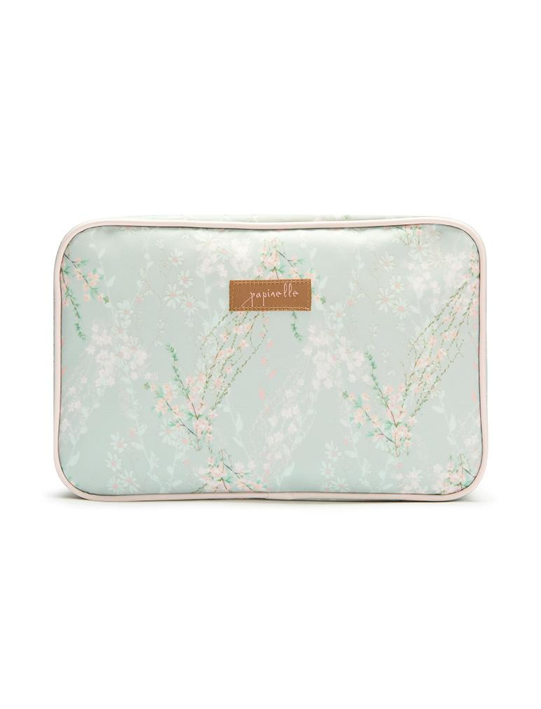 Floral Print Cosmetic Bag - Falling Blossom