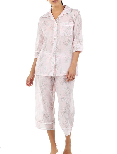 Falling Blossom Floral Luxury Pajamas