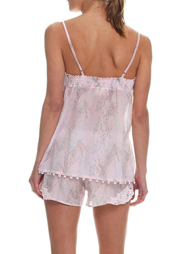 Falling Blossom Boxer Camisole PJ Back