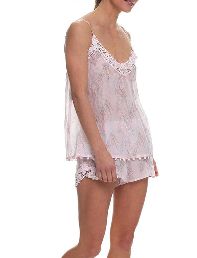Falling Blossom Boxer Camisole PJ