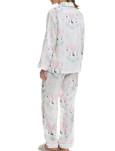 Megan Hess French Balloons Full Length PJ Set