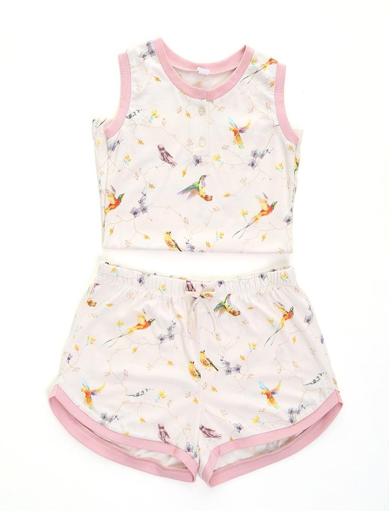 Kids Hummingbird PJ Set