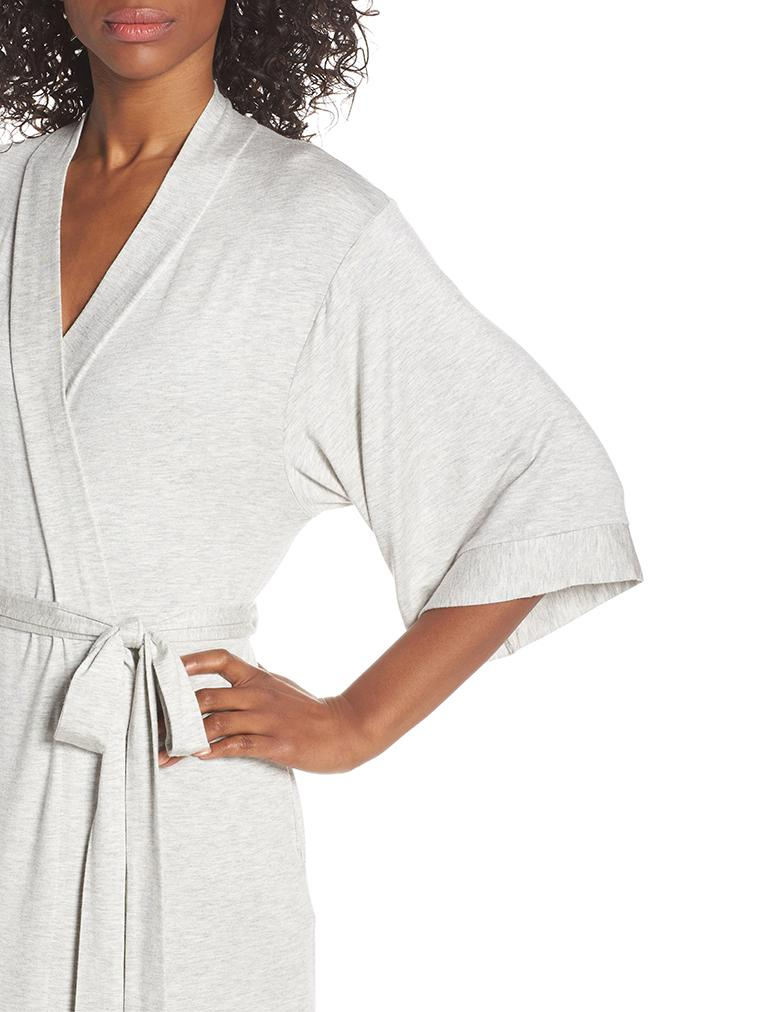 Modal Robe in Grey